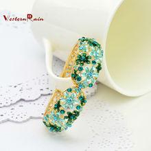 china 2014 venta al por mayor de moda pulsera brazalete de perlas chapado en oro pulsera de oro 18k cuentas joyería