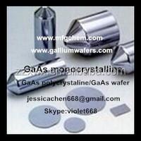 HOT sales gallium arsenide GaAs wafer/ polycrystaline/monocrystal/6N
