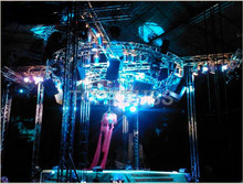 outdoor event or performance used aluminum truss
