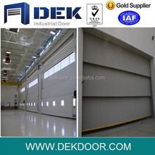 Excellent quality aircraft hangar door guillotine doors