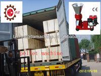 Hot sell KL120A 8hp chicken feed pellet machine