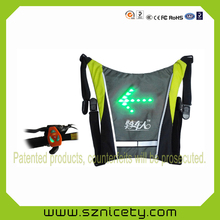 LED backpack accessory with light indicators