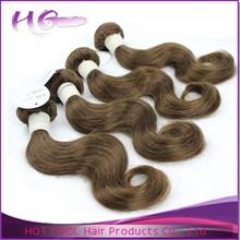 Hot sale raw unprocessed virgin human hair factory cheap hair weave color #33