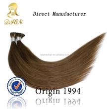 cheap i tip kanekalon and toyokalon synthetic hair extension