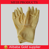HOT SELL rubber gloves for kitchen extra long rubber gloves safety glove manufacturers