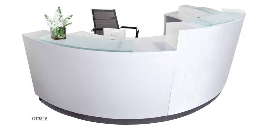 cheap reception counter design office reception table white reception desk view office