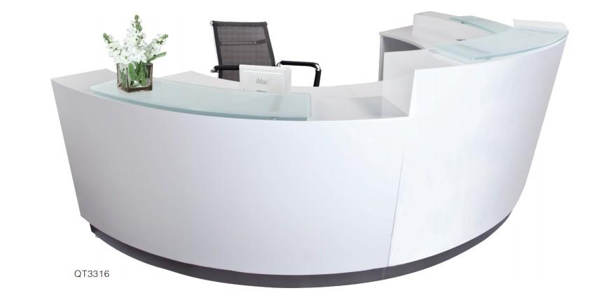 Cheap Reception Counter Design Office Reception Table White Reception Desk View Office