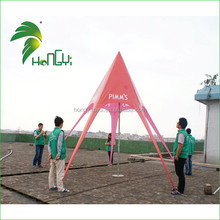 High Quality Fashion Modern Customized Red Star Tent for Outdoor Activity