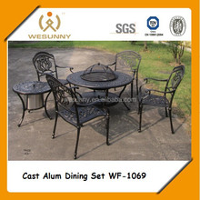 used outdoor garden furniture import, outdoor korean bbq grill table grill