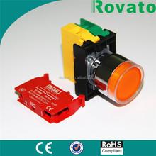 rovato 22mm 5v led push button