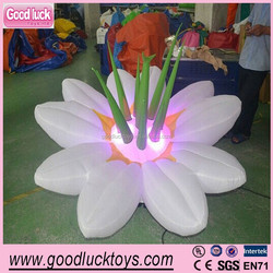 Fatanstic Decoration Wedding Inflatable Flowers/hanging inflatable flower with led for party/lighting inflatable flower