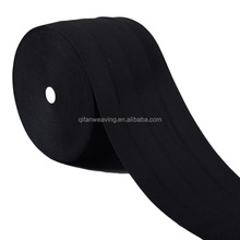 KNIT BLACK FOLD OVER KNITTED ELASTIC