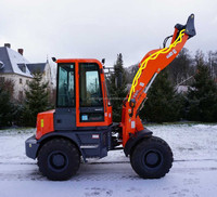 Europe Popular Selling Compact Wheel Loader With Quick Hitch 36.8kw Engine