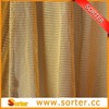 Golden rounded sequin metallic fabric cloth curtain