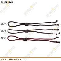 Slicone trend fluorescent rubber sunglasses string
