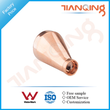 T509 Factory price pipe fitting copper reducing end connectors eccentric