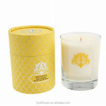 High Quality Branded Soy Wax Scented Candles in Glass Jar