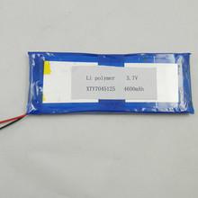 lp7045125 polymer lithium battery 4600mah tablet battery 3.7v