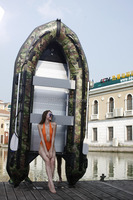CE Certificated Military Inflatable rubber Boat for Sale