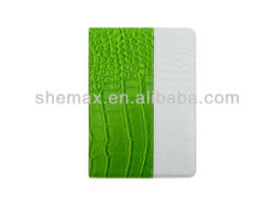 Chinese Brand Llaptops Smart Cover Crocodile Pouch for Apple iPad Mini 2