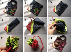 Hot new products for 2015 cheap nylon foldable shopping bag