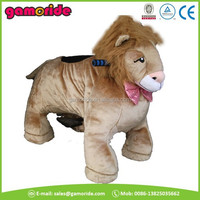 AT0614 large riding horse for kids large stuffed toy animals unique outdoor toys