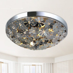 2015 Crystal round ceiling light & wonderful luxury led ceiling light for home