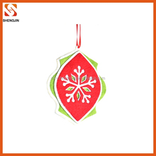 Factory direct sale custom christmas tree ornament