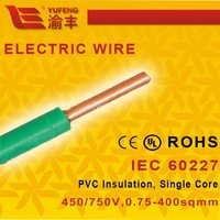 10mm 16mm Heat Resistant Solid Electric Wire and Cable