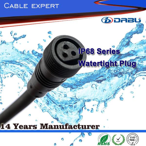 Термостойкие Домашней Электропроводки Расширение Шнур Питания Тип Power Plug IP68 3 Pin Водонепроницаемый Кабель Питания Расширения