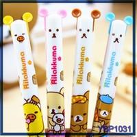 eco friendly stationery china wholesale cute bear raw materials of ball pen