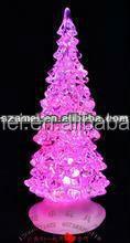 customized personalized LED acrylic christmas tree ornaments