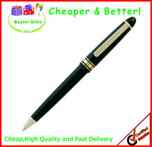 Factory price solid color promotional plastic logo pen gel ink plastic pens plastic roller pen