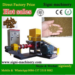 Low Cost automatic fish feed extrusion machine fish feed extruder machine for sale