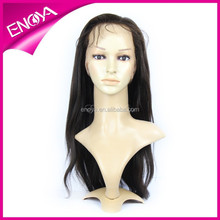 wholesale price 100% hand made full lace wig accept paypal