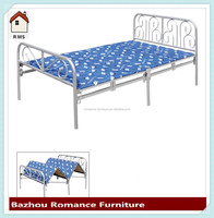 Super single size iron frame portable wholesale price of folding bed