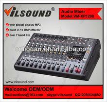 VM-XP1208 Power mixer