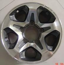 Z720 matt black/silver car alloy wheels /car rims