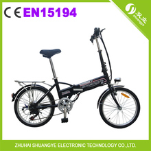 "cheap battery 20"" pocket folding electric bike A1-7"