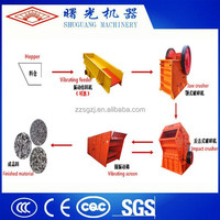 Reasonable configuration quarry crusher plant for sale