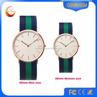 Wholesale high quality quartz watch,custom leather watch,unisex vogue watch