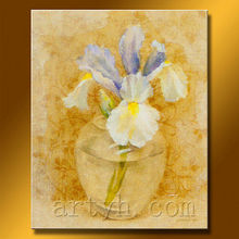 Newest Handmade Pictures To Oil With Flowers For Decor