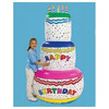 customize party decoration 5ft inflatable birthday cake