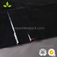 wholesale black plastic garbage bag on roll