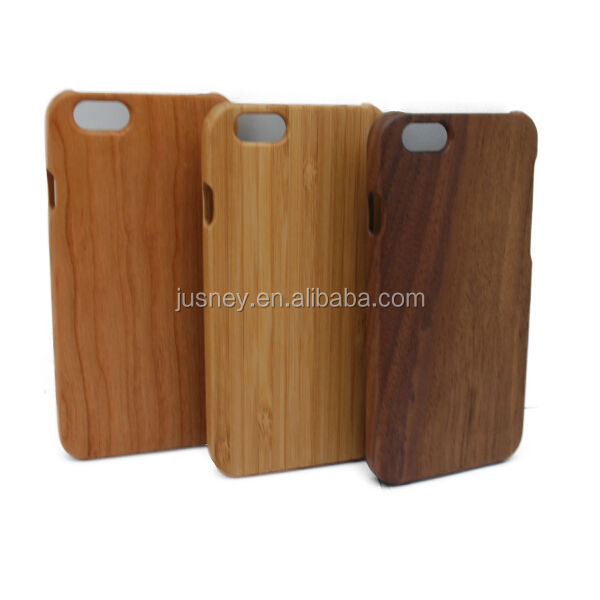 Factory handmade wooden cases cover for iPhone 6,mobile phone case for iphone6,for iPhone 6 case bamboo