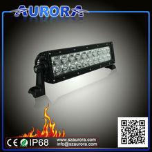 Aurora Hot Sell 10'' 60W dual row led off road light bar light 4wd off road
