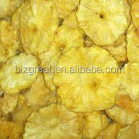 We are supplying the Frozen dried pineapple ring with good quality and market price