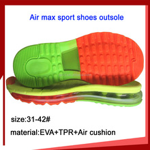 Hot selling TPR max free air cushion sport shoes outsole