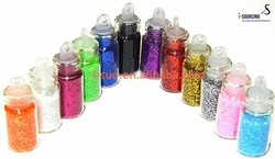 New design mini bottled glitter powder with free samples