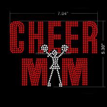 Cheer Starts Here Cheer Rhinestone Transfer Cheerleader Bling Rhinestone